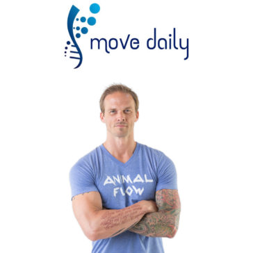 mike fitch animal flow move daily podcast
